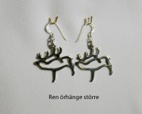 Reindeer Earrings Big