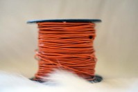 - Rundrem 1mm orange